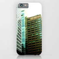 iPhone & iPod Case featuring Leaning Skyline by Emily H Morley