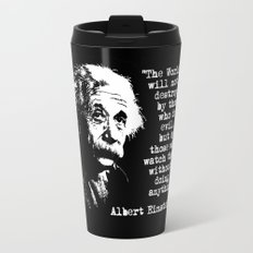 Albert Einstein Travel Mug