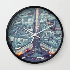 Paris, City of Lights. Wall Clock