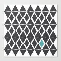 Diamond Back Canvas Print