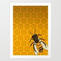 The Last Honeymaker Art Print