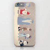 iPhone & iPod Case featuring Claymation Lineup  by Robert Scheribel
