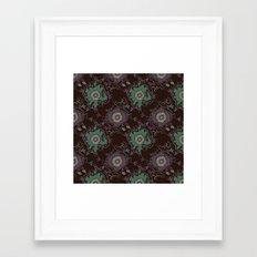 Branches pattern Framed Art Print