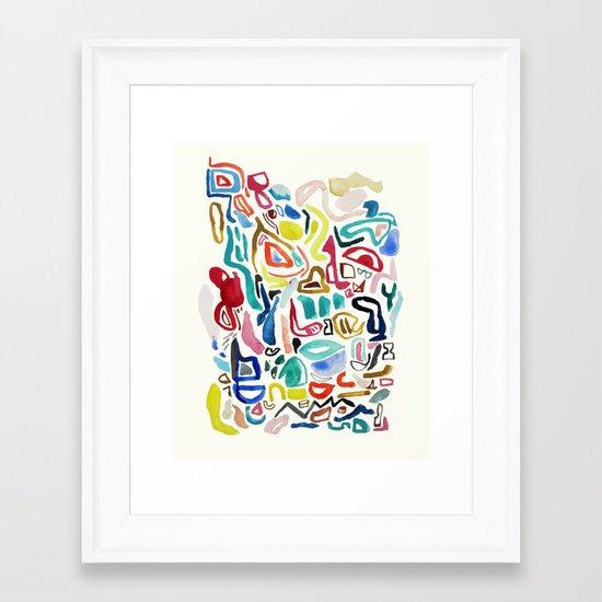STREAMS Framed Art Print