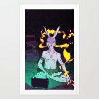 Hi-Speed Connection Art Print
