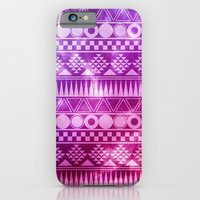 Tribal Fuschia.  iPhone 6 Slim Case