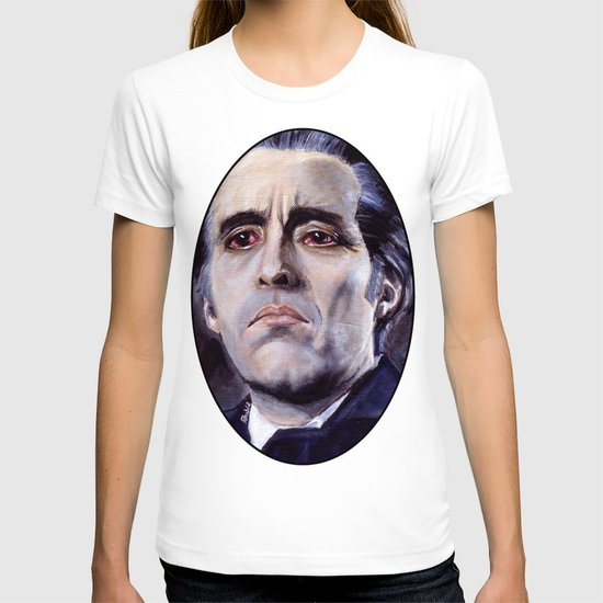 Christopher Lee as Dracula: He is the embodiment of all that is evil. T-shirt