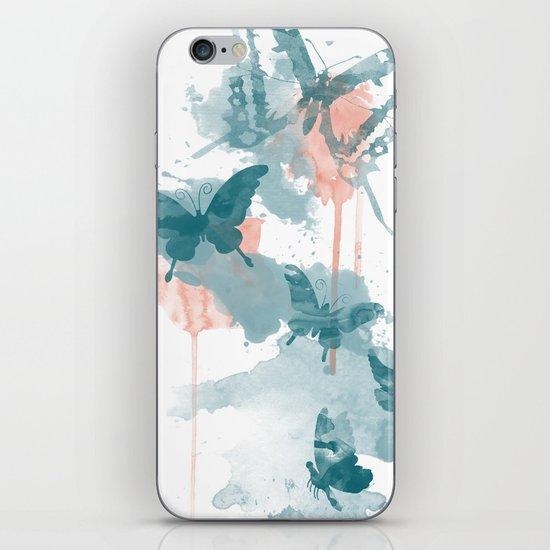 Butterflight iPhone & iPod Skin