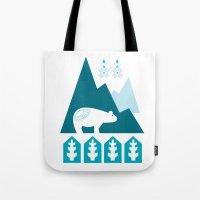 Heart The Polar Bear Tote Bag