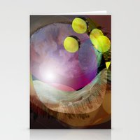 the abstract dream 25 Stationery Cards