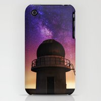 iPhone Cases featuring Katameya Observatory & MilkyWay by Sarah Sallam