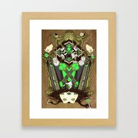 Molly Can't Make Up Her … Framed Art Print