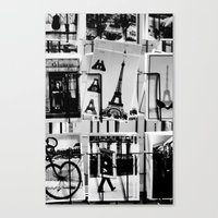 from Paris with love Canvas Print