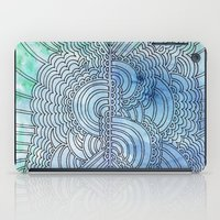 Water & Color Drawing Meditation iPad Case