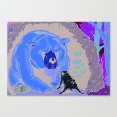 Bravery Canvas Print