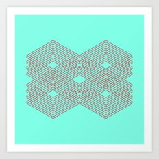 Maze 2 Art Print