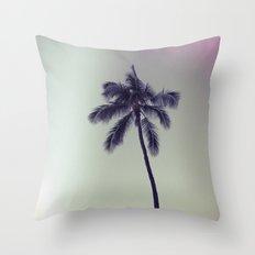palm tree ver.vintage Throw Pillow