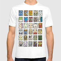 Faces Mens Fitted Tee White SMALL