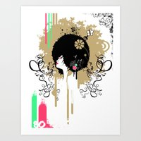 In the 80's!! Art Print