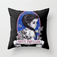 Ma Petite Throw Pillow