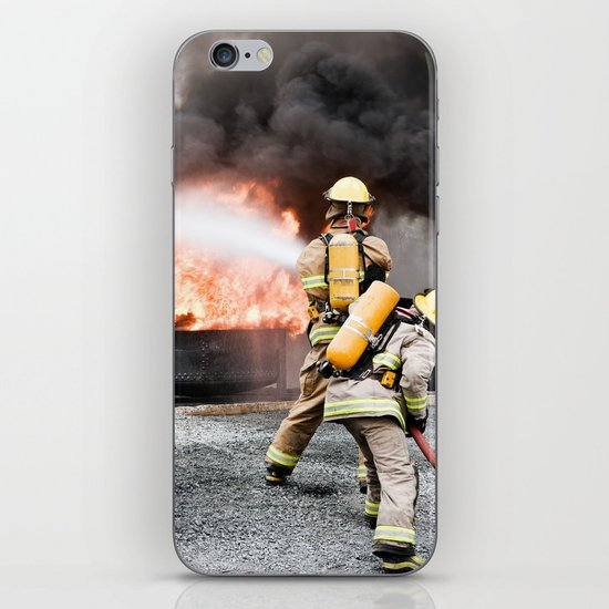 Firefighting iPhone & iPod Skin