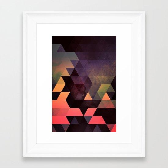dygyt Framed Art Print