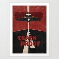 Death Proof Movie Poster… Art Print