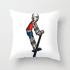 Pogo Throw Pillow