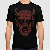Satan Mens Fitted Tee Black SMALL