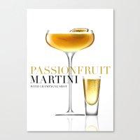 Passionfruit Martini Wit… Canvas Print