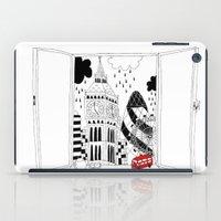London window iPad Case