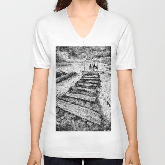 Storm - Ink V-neck T-shirt