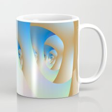 Blue Labyrinth Mug