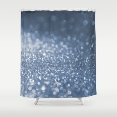 Sparkling Sea Foam Shower Curtain