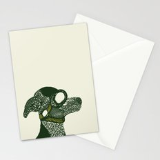 Dog likes to fly planes Stationery Cards