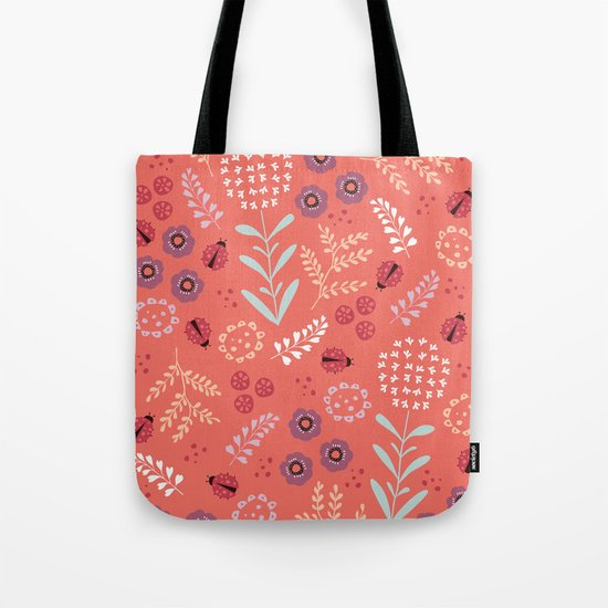 Little Ladybugs Tote Bag