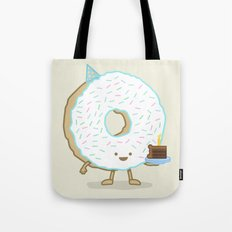 The Birthday Party Donut Tote Bag