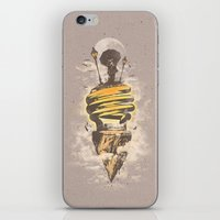 Lighting Up My World iPhone & iPod Skin