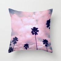 More Palms II Throw Pillow