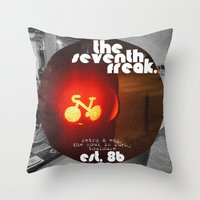Retro - Est. '86 Throw Pillow
