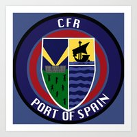 CFR - Port Of Spain Art Print