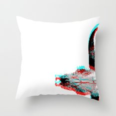 Sidewinded Throw Pillow