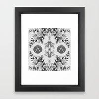 vi x iv  Framed Art Print