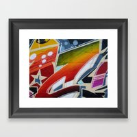Graffit Framed Art Print