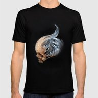 Kymophobia Mens Fitted Tee Black SMALL
