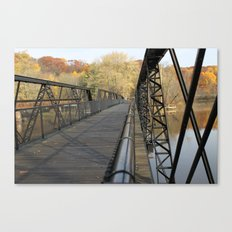 A Different Perspective on the Bridge Canvas Print