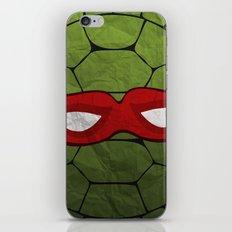 the red turtle iPhone & iPod Skin