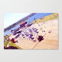 Cockatoo Island Canvas Print