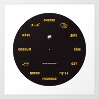 Cheese Movement Art Print