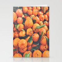 oranges Stationery Cards